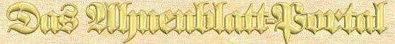 Das Ahnenblatt-Portal
